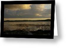 Coastal Winters Afternoon 3 Greeting Card