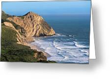 Coastline At Point Reyes National Sea Greeting Card