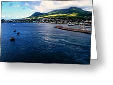 Coastline Of St Kitts Greeting Card