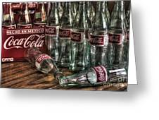 Coca Cola - Hecho En Mexico Greeting Card