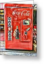 Coca-cola Retro Style Greeting Card