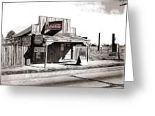 Coca-cola Shack   Alabama Walker Evans Photo Farm Security Administration December 1935-2014 Greeting Card