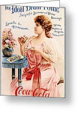 Coca-cola - The Ideal Brain Tonic Greeting Card