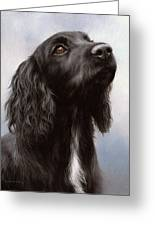 Cocker Spaniel Painting Greeting Card