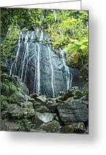 Coco Falls - El Yunque Greeting Card