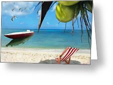 Coconut Bay Greeting Card