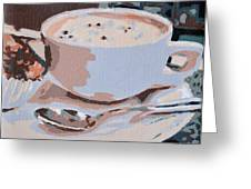 Coffee And Cupcake Greeting Card