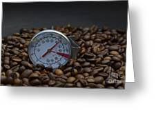 Coffee And Meter  Greeting Card by Bobby Mandal