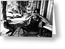 Coffee Break New Orleans Style Greeting Card