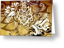 Coffee Flowers 10 Calypso Greeting Card
