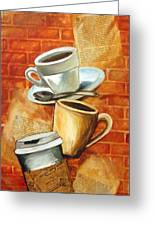 Coffee Over Shannara Greeting Card
