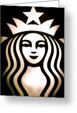 Coffee Queen Greeting Card