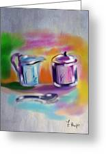 Coffee Still Life Greeting Card
