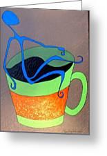Coffee Time Greeting Card