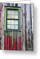 Coforful Old House Greeting Card