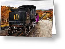 Cog Railway Greeting Card