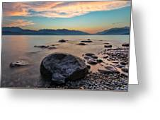 Cogburn Beach Rocks Greeting Card