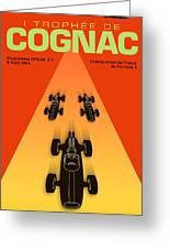 Cognac France F3 Grand Prix 1964 Greeting Card