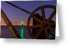 Cogwheel Framing Greeting Card