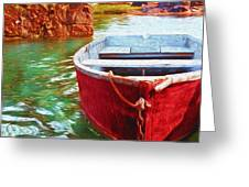 Cohasset Dory Greeting Card