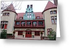 Coindre Hall Entrance Greeting Card