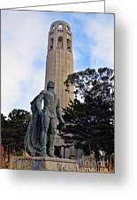 Coit Tower -1 Greeting Card