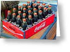 Coke Case Greeting Card