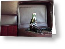 Coke To Go Greeting Card