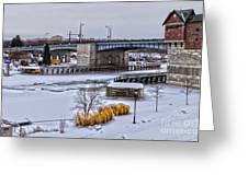 Col Patrick O' Rorke Memorial Bridge Greeting Card