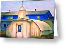 Cold Bay Chapel Greeting Card