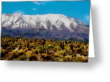 Cold Creek Canyon Nv Greeting Card