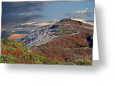 Cold Day On The Blue Ridge Greeting Card