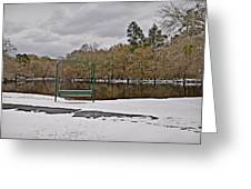 Cold River Greeting Card