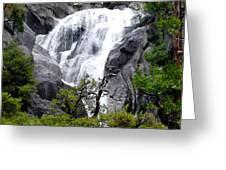 Cold Rush - Yosemite National Park Greeting Card
