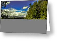 Cold Spring Day In Vermont Greeting Card