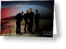 Coldplay Greeting Card