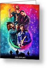 Coldplay Mylo Xyloto Greeting Card