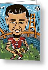 Colin Kaepernick - Achievement Greeting Card