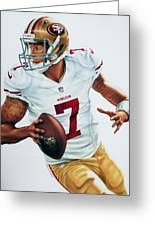 Colin Kaepernick Greeting Card