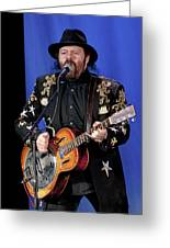Colin Linden Of Blackie And The Rodeo Kings Greeting Card