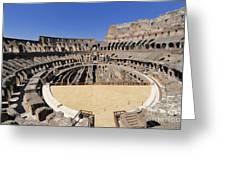 Coliseum . Rome Greeting Card