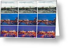 Collage - Kremlin View - Featured 3 Greeting Card