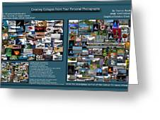 Collage Photography Services Greeting Card