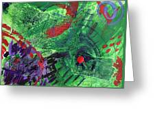 Collage Study Greeting Card