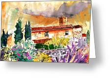 Colle D Val D Elsa In Italy 03 Greeting Card