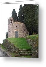Colle Di Compito - Lucca -tuscany Greeting Card