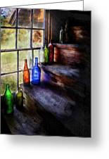 Collector - Bottle - A Collection Of Bottles Greeting Card
