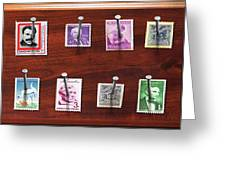 Collector - Stamp Collector - My Stamp Collection Greeting Card