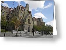 College Hall University Of Pennsylvania Greeting Card