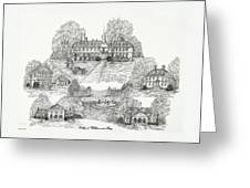 College Of William And Mary Greeting Card